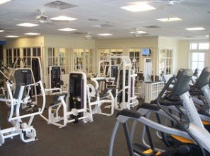 Chattahoochee Country Club interior gym