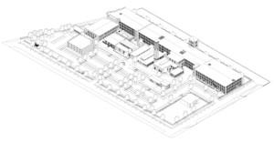 Germantown Mill Lofts Louisville, KY 3D model rendering