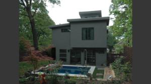 Howard Circle Residence Exterior Pimsler Hoss Architects