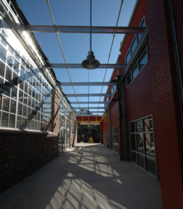 The Jane Grant Park Interior Breezeway