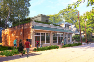 Proposed Rendering for Mediterranea Restaurant in Grant Park Atlanta, GA