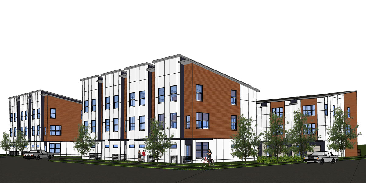 Kirkwood townhomes pimsler hoss architects inc for Kirkwood elevation