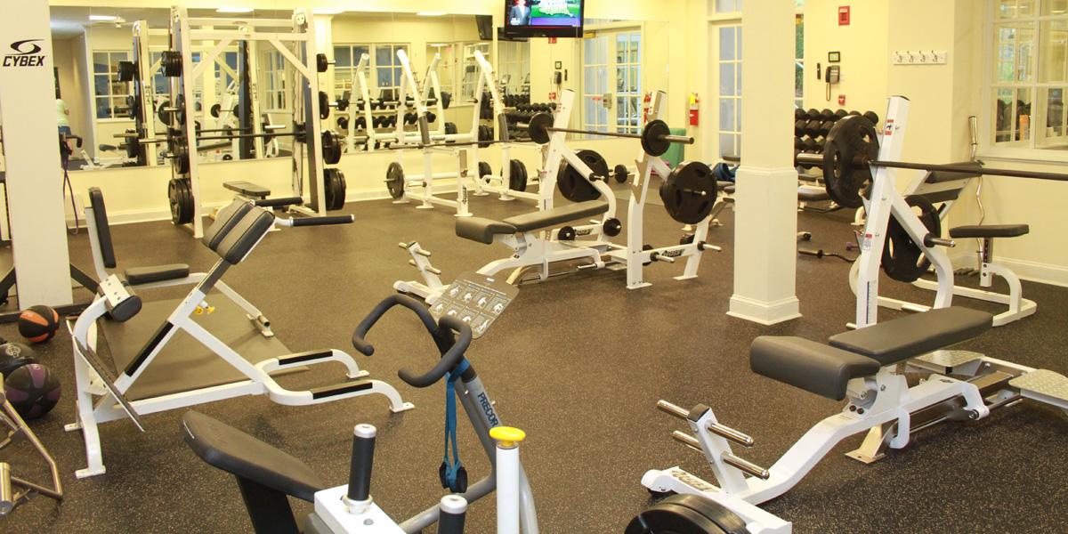 Chattahoochee Country Club interior gym