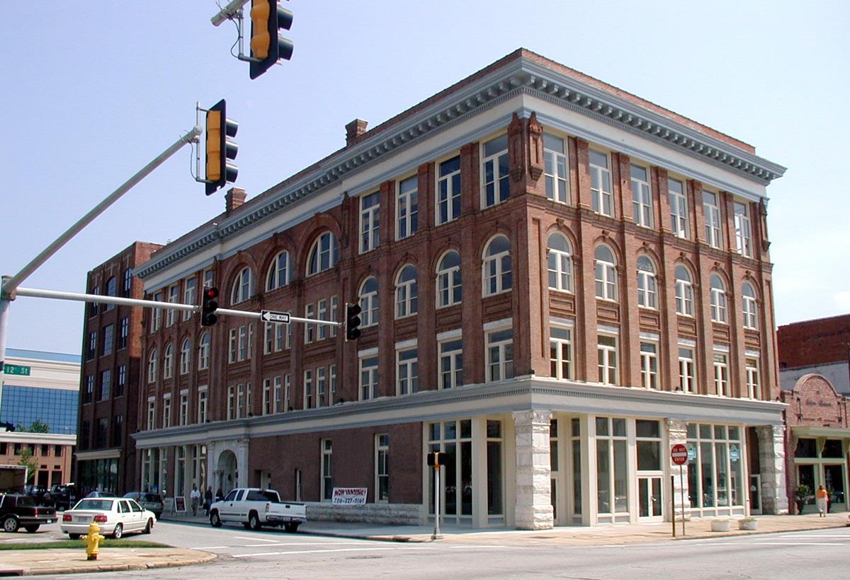 Flowers Building in Columbus, GA exterior