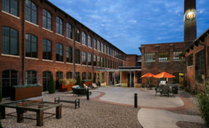 Germantown Mill Lofts Louisville, KY © 2016 RealTourCast exterior courtyard