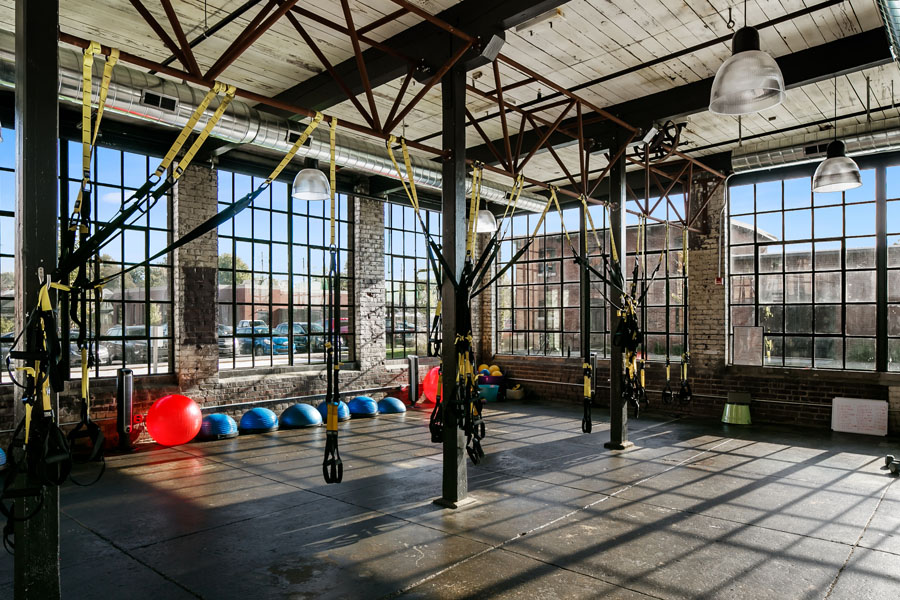 Germantown Mill Lofts Louisville, KY © 2016 RealTourCast interior gym