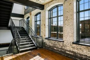 Germantown Mill Lofts Louisville, KY © 2016 RealTourCast interior stairwell