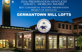Germantown Mill Lofts Louisville, KY Award Announcement Image