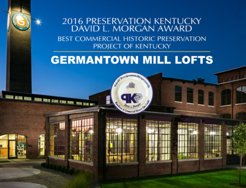 Germantown Mill Lofts Wins Excellence Award