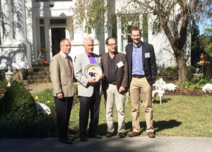 Germantown Mill Lofts Louisville, KY Award Plaque with Randy Pimsler and Colin Underhill