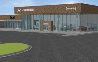 Proposed Rendering of Hyundai of Cumming