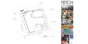 Fetch Park & Ice House concept plan and inspiration