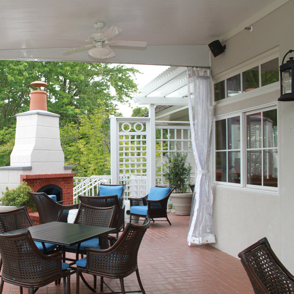 Chattahoochee Country Club in Gainesville, GA Exterior Porch