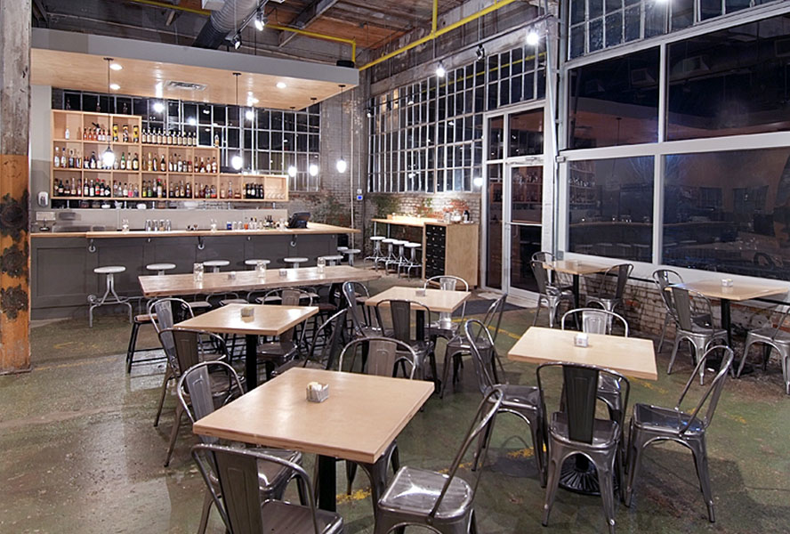 Octane Coffee Bar Interior