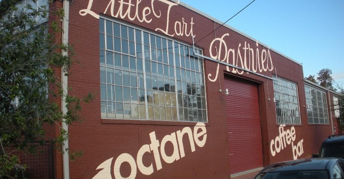 Octane Coffee Bar Exterior