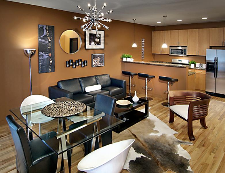 Fair and Walker Lofts Atlanta GA interior living