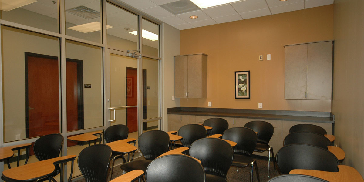 City of Refuge Interior Elevation Classroom